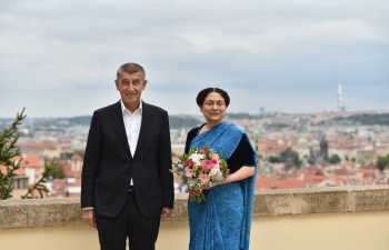 Ambassador met Prime Minister of the Czech Republic on 30 August, 2018