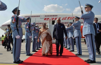 President of India visit to Czech Republic